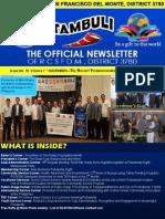 "Issue No. 19  Volume 1 "" NOVEMBER—THE ROTARY FOUNDATION MONTH""  NOVEMBER 5, 2015"