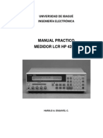 Manual Lcr Hp 4263b