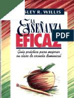 La enseñanza Eficaz - Wesley R. Willis