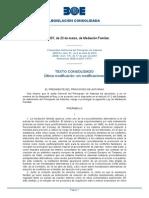 Ley Mediacion Familiar Asturias