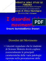 Disordini Del Movimento