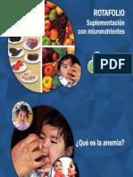 Rotafolio de Anemia