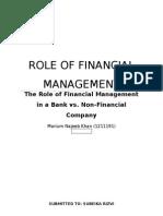 FINANCIAL MANAGEMENT-Bank vs. Textiles.docx