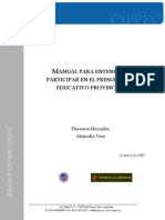 Manual Presupuesto Educativo