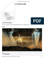 Seven Wonders of the Commonwealth - DocuWiki