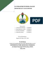 Laporan Praktikum Asidimetri Dan Alkalimetri