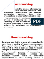 Bench Marking & FMEA