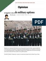 Japan Needs Military Options 05-07-14