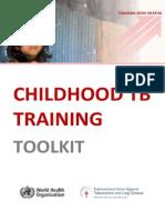Child TB Training Toolkit Web