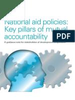 National aid policies