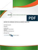 ACTIF Report on Cambodia Textile and Garment Industry_Zakir Hossain_2010