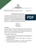 RBI - Gold Monetization