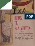 San Agustin - 15 Tratados Escriturarios