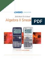 Algebra II Sneak Peek