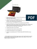 Tutorial Mereset Printer Canon IP2770