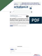 Da politici a cacciatori di like - Affari Italiani.it, 5 novembre 2015