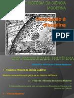 Bezerra - Filosofia e História Da Ciência Moderna - Introdução
