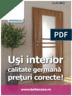 Usi Interior
