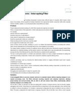 Intercepting Filter Over