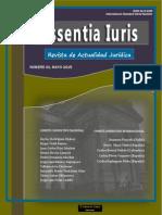 Portada Revista Essentia Iuris