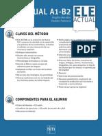 Projeto didáctico ELE ACTUAL A1-B2