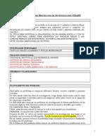 Proyectos de Investigación UDAFF