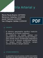 Gasometría Arterial y Venosa