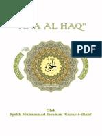 Kitab Ana Al- Haq