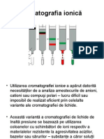 Cromatografie ionica