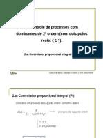 Cap. 1 - (b.3) Projeto via Cancelamento de Polos e Zeros (Segunda Ordem)