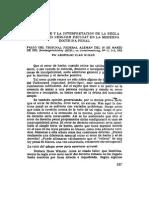 El Alcance y La Interpretacion de La Regla Error Juris Neminem Excusat en La Moderna Doctrina Penal