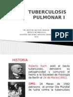 Tuberculosis Pulmonar i y II 2014 2