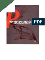 Projeto Arquitetônico Conteúdos Técnicos Básicos