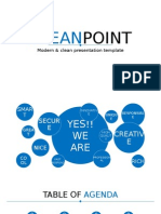 Light (Blue) Widescreen presentation sample
