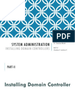 Module 3_Lecture 3 - Installing Domain Controllers