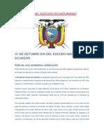 Día Del Escudo Ecuatoriano