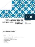 Module 3_Lecture 5 - Active Directory on Windows Server 2008