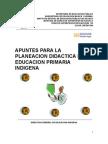 Apuntes Para La Planeacion Didactica