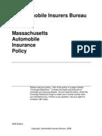 MA Auto Policy 8th Edition