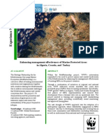 Enhancing management effectiveness of Marine Protected Areas