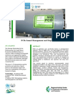 PCBs Sound Management and Disposal