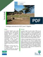 Stratégie nationale de GIZC pour l'Algérie