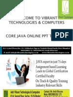 professional Java trainer