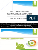 professional Android trainer