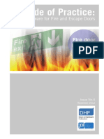 Code of Practice Hardware for Fire and Escape Doors