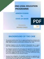 Arnesh Kumar State of Bihar