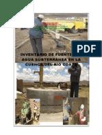 3 Inventario de Fuentes de Agua Subterránea en La Cuenca Del Rio Coata - 2007
