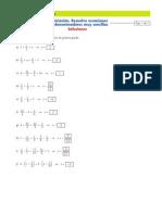 Fichas Ecuaciones Con Denominadores_soluciones