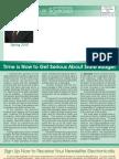Schroder Spring 2010 Newsletter