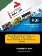 El Hospital Como Organización de Conocimento Ponencia
